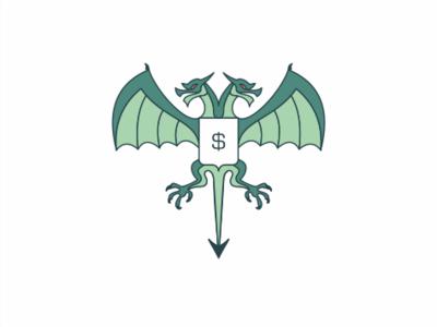 Змей Горыныч логотип sayapin саяпин sale logo wyvern concept валюта мировая деньги доллар рф герб горыныч змей dollar zmey gorynych emblem dragon