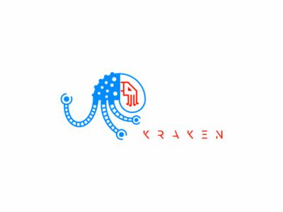 Kraken sale space suit space logo robots robot equipment computer gaming kraken