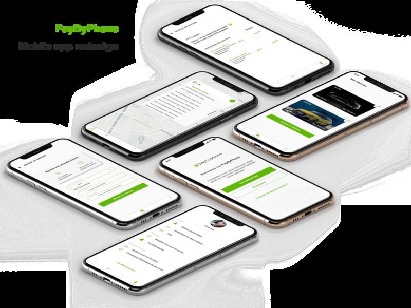 Vehicle parking - mobile app app casestudy vehicle parking redesign uiux mobile ui mobile app mobile