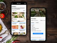 Recipe Concept App