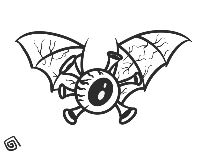 COVID19 bulbmanart vector illustration 2d illustration pandemic eyeball bat virus covid 19 covid-19 covid19