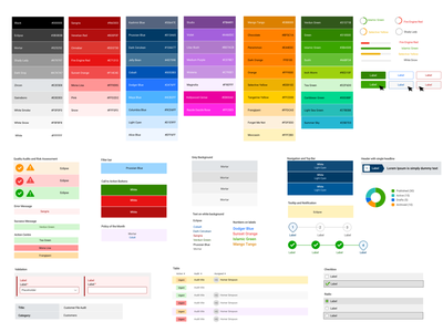 Colour palette with names and HEX code sketchapp free downloads download freebies accessibility color palette colors dashboard ui