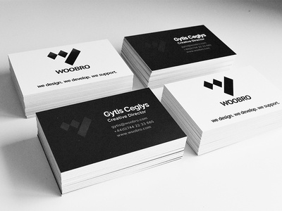 WOOBRO - Business Cards cards business