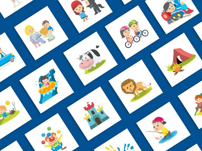 GoKids Icons kids gokids icons
