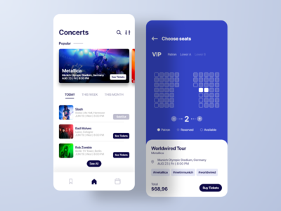 Concert Tickets App