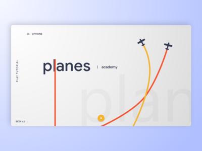 Planes Academy Menu Reboot