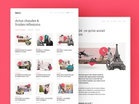 Articles page