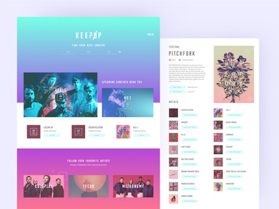 Keepup Website