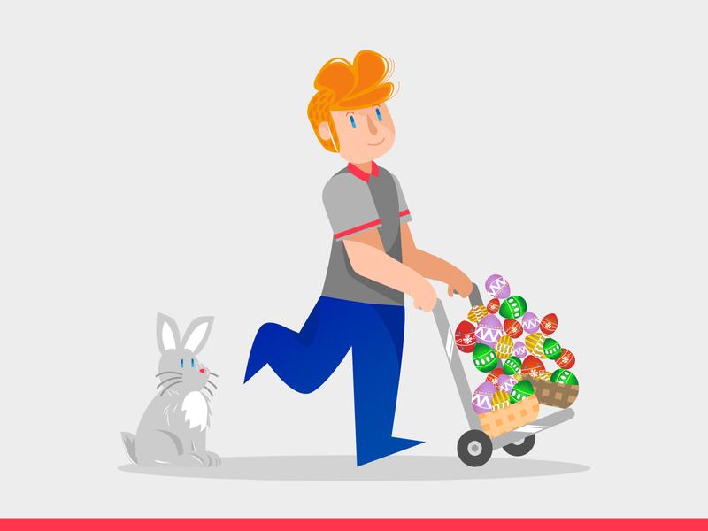 Easter Illustrations! #1