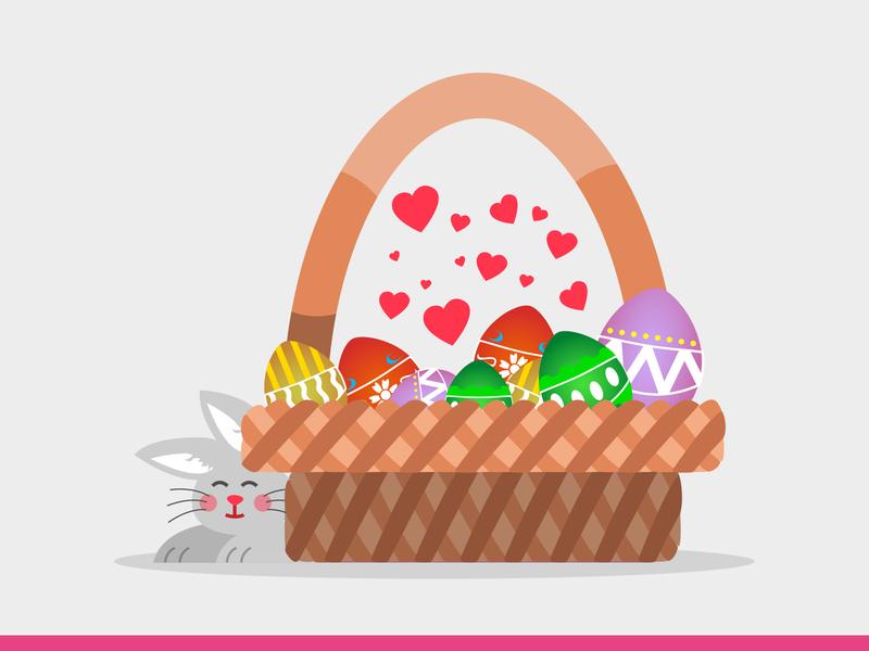 Easter Illustrations! #2