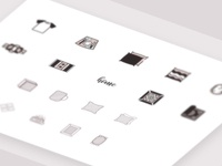 Ecommerce icons for Decoration
