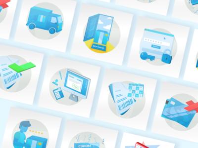 Email Marketing Illustrations #2