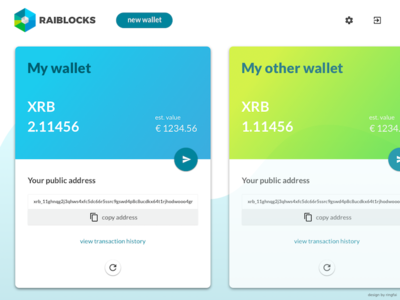 xrb cryptocurrency wallet