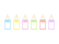 baby milk bottles