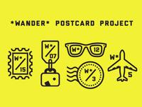 Wander Postcard Project