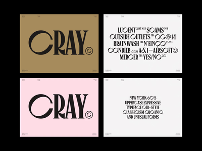Monthly Typeface Selection