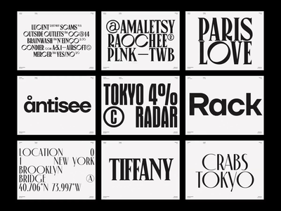 May 2020 Font Selection design typedesign font fonts typogaphy type inspiration typography