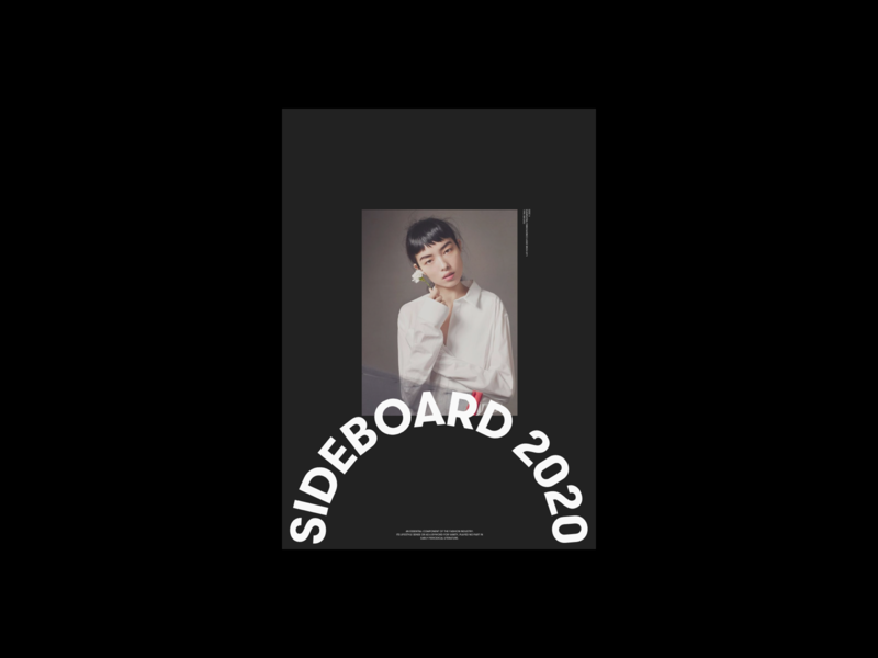 Sideboard Magazine fashion whitespace website design minimal clean layout typography
