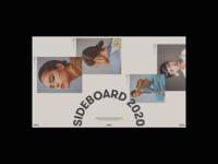 Sideboard Magazine design website modern web grid minimal header clean layout typography