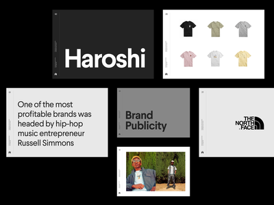 The Maturation of Hip-Hop's Brands grid whitespace simple layout clean minimal design presentation brand deck typography