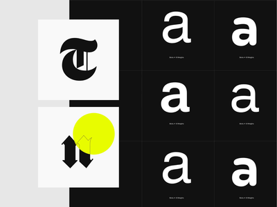 The Northern Block—Type Foundry Website typeface fonts font website foundry design layout typography