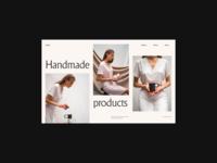 Sallyb. header grid web whitespace website design minimal clean layout typography