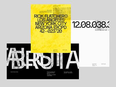BRUTALIST ANTHEM graphicdesign graphic brutalism brutalist layout typography