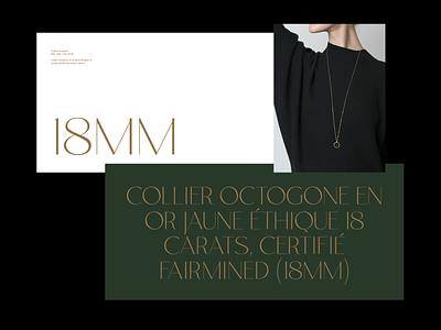 18mm whitespace editorial elegant design minimal clean layout typography