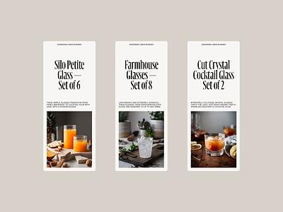 Farmhouse II serif typeface serif font mobile serif minimal clean layout typography