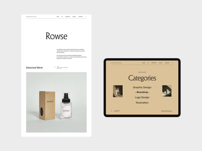 Branding Inspiration Platform IV branding web grid whitespace website design minimal layout clean typography