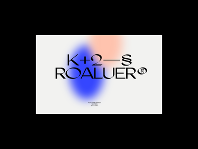 Roaluer® header design clean minimal gradients gradient layout typography