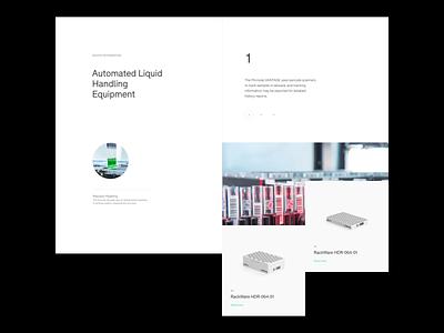 Product slider grid whitespace design minimal clean website design slider website layout typography