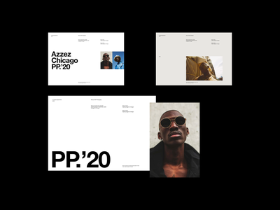 Editorial simple grid whitespace website design minimal clean layout typography