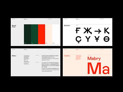 Brand & Visual Style Guide typography minimal layout brand identity logo brandbook visual identity branding