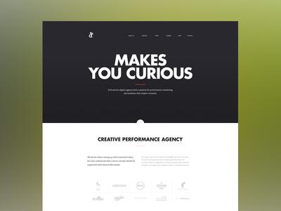 New agency website