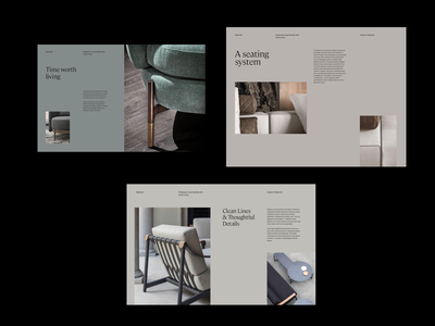Color Study design website grid color minimal clean layout typography