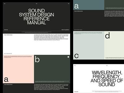 Color exploration II sans grid design minimal clean layout whitespace color typography