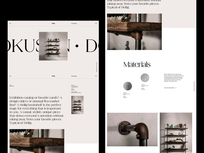 https://www.vonheilig.de/ website design minimal clean layout typography