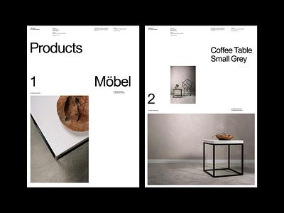 https://www.vonheilig.de/ whitespace website design minimal clean layout typography