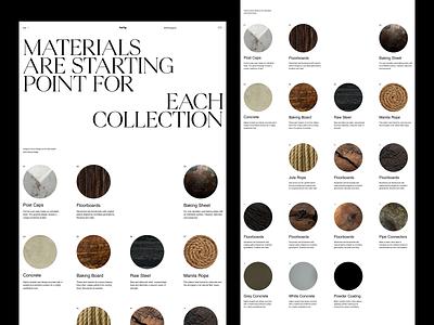 Von Heilig whitespace website design minimal clean layout typography