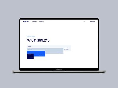 Clain.io motion graphics animation brand website tech company crypto blockchain