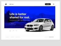 BMW 1 Series — Landing Page