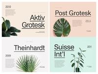 6 Alternatives to Helvetica