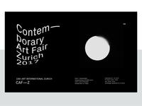 Contemporary Art Fair Zurich 2017