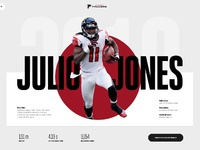 Julio jones   atlanta falcons full