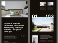 Architecture Magazine Layout