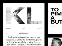Kendrick Lamar — Makers of the Game