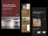 Architecture Website Layout