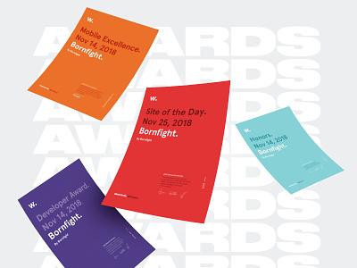 Bornfight Awwwards typography design awwwards awards