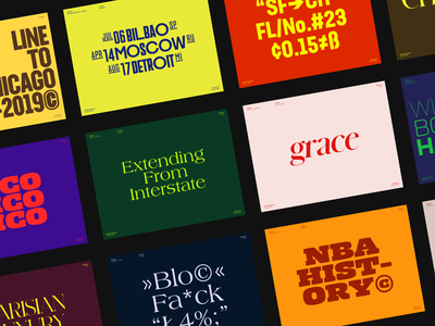 Typography Inspiration List condensed extended sans serif colors fonts font foundry typo foundry typofonderie typography collection type typo typography